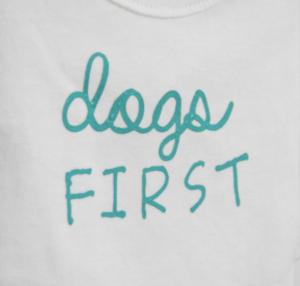 organic first dog tee