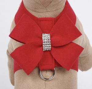 nouveau bow tinkie dog harness