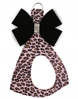 nouveau jungle bow step in dog harness