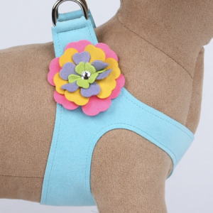 Tinkies Garden Flower Step In Dog Harness