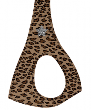 rock star jungle print step in dog harness