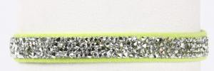crystal rocks dog collar