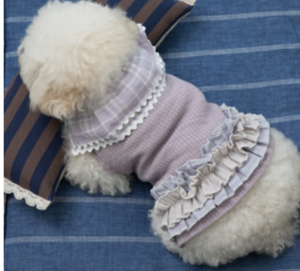 classy sleeveless dog shirt