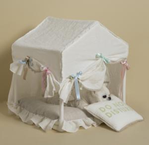 Happy Birthday Peekaboo Dog Bed