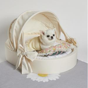 ecru dog bed cradle