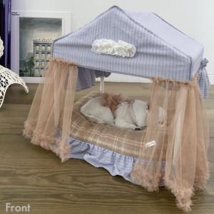 peekaboo cabana dog bed