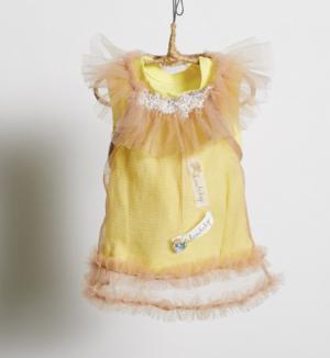 cotton mesh dog blouse