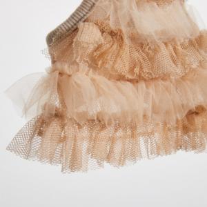 Cotton Mesh Mini Dog Dress