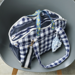 checkerboard swag dog bag