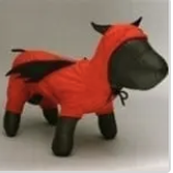 clearance red devil dog costume
