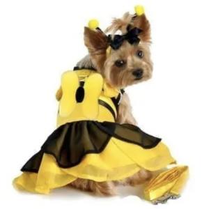 Bumble Bee Fairy Dog Costume Dress