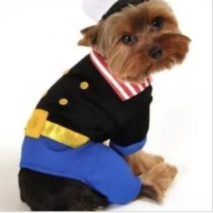 clearance sailorman dog costume