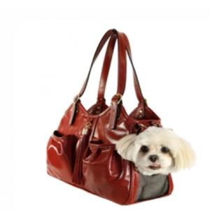 metro tassel dog carrier