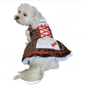 clearance beer girl dog costume