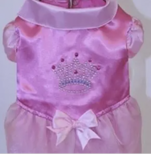 clearance princess dress with crown