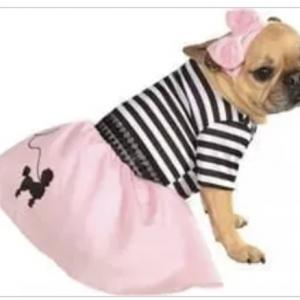 clearance fifties girl dog Costume