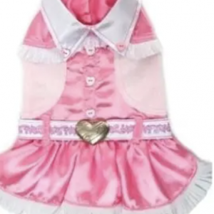 clearance pink cowgirl dog costume