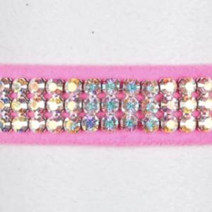 3 Row Giltmore Aurora Borealis Collar